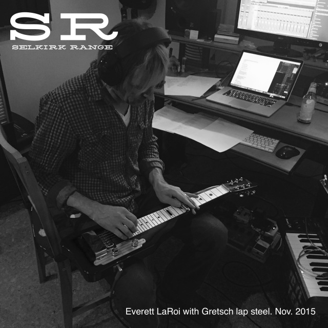 Everett with lap steel annotated